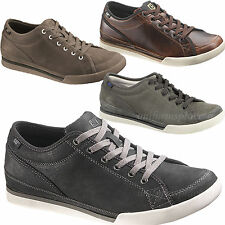Caterpillar Men Shoes Jed Sneaker LEATHER Work Dress Casual Shoes CAT Oxford
