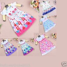 Flower spring summer brand baby girl dress princess clothing party child kids