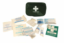 40 Piece Home First Aid Kit in Large bag Idea for Travel Home Car FREE P&P