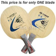 Galaxy Table Tennis Blade, Y-3, Wood + Carbon, NEW