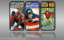 COMIC BOOK HERO IPHONE 5 5S RUBBER  PHONE CASE COVER, GIFT FOR ANY OCCASION