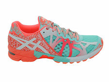 NEW WOMENS ASICS GEL-NOOSA TRI 9 RUNNING SHOES TRAINERS GLACIER / WHITE / CORAL
