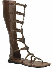 Adult Brown Gladiator Sandals Shoes