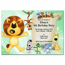 i03 Personalised Birthday party invitations invites 1st 2nd 3rd 4th 5th any text