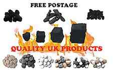 GAS FIRES REPLACEMENT LOGS/ RIPPED COALS/CAST COALS / PEBBLES