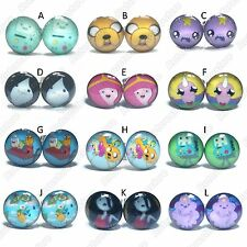 Adventure Time Stainless Steel Stud Earrings - Mens Womens Fashion - New