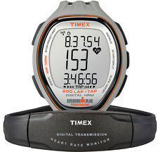NEW TIMEX IRONMAN TARGET TRAINER WATCH TAP SCREEN DIGITAL HEART RATE MONITOR HRM