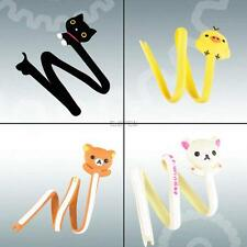 Lovely Cat Chicken Bear Animal Cable Cord Wire Winder Tie Organizer Management