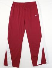 Nike Swoosh Cardinal Red & White Track Pants Womans NWT