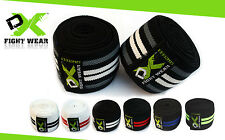 Knee Wraps Weight Lifting Bandage Sleeves Power lifting Gym Straps Guard Pads