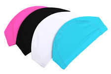 NEW Swim Swimming Cap Hat Elastic Polyester Fabric Spandex Mens Womens Free size