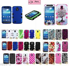 Hybrid Defender Silicone Fitted Case Cover Skin fr Samsung i537 GALAXY S4 Active