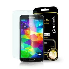 REALOOK Samsung Galaxy S 5 / S V Crystal clear Screen protector 2+1 Packs
