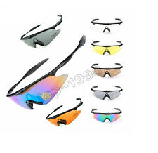 Cycling Bicycle Surfing Driving Shooting Hunting Airsoft Sun Glasses Goggles New
