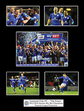 Leicester City FC 2014 Champions Football Photo Compilation Memorabilia Gift