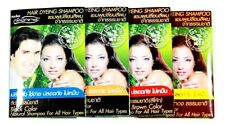 2x HAIR DYEING SHAMPOO FROM NATURAL HENNA & CHINESE HERB NON AMMONIA  FREE SHIIP