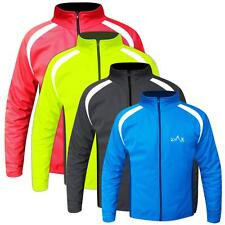 Mens Cycling Jacket Winter Cycle Top Windproof Jacket Full Sleeves S to XXL