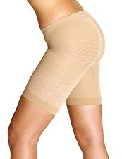 PEACHY PINK NUDE ANTICELLULITE THIGH WAIST SLIMMING SHAPEWEAR PANTS BNWT £30