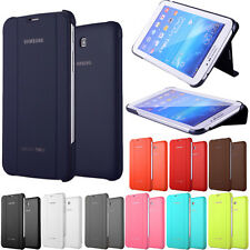 """Slim Leather Case Cover Stand for Samsung Galaxy Tab 3 Lite 7.0 7"""" T110 T111"""