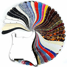 47 colours - Blank Scratchplate Pickguard for Strat Stratocaster Pick Guard