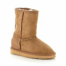 Just Sheepskin Kids Classic Tan Sheepskin Boot From Debenhams