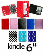 for AMAZON KINDLE PAPERWHITE LEATHER CASE COVER WALLET WITH FULL INTERIOR