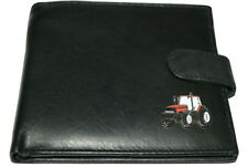 Red Case International Tractor Wallet.Leather NEW - Black/Brown/Chestnut. Gift!