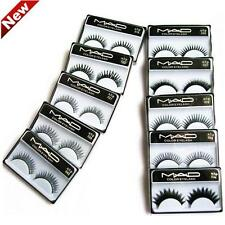 New women 10 Pairs Long Soft Natural Thick False Eyelashes Eye Lash Make Up 04a