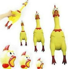 Screaming Rubber Chicken Pet Dog Children Toy Sound Squeeze Screaming Toy HOT
