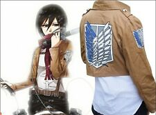 Attack on Titan Shingeki no Kyojin Eren Jaeger Cosplay Anime Costumes Jacket