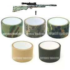 5cm x 5m Tactical Military Camo Wrap Rifle Shooting Hunting Camouflage Tape New