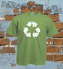 Recycle T-Shirt Big Bang Theory riciclo Sheldon Recycling Leonard  12 COLOURS