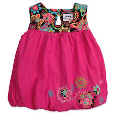 Girl's kids beautiful flower embroidery summer cotton dress