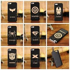 Luxury Super Hero Hard PC Protective Back Case Cover for Samsung & Apple Mobiles