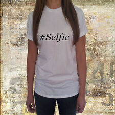 New Girl Women T Shirt Selfie gift party funny lol present Celebrity networking