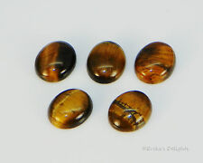 ( 8x6 - 16x12 ) Oval Cabochon (Cab) Natural Tigers Eye