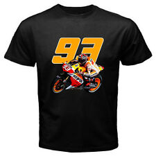 New MARC MARQUEZ 93 Moto GP Champion Baby Alien Men's Black T-Shirt Size S-3XL