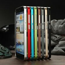 For Huawei Ascend G730 0.7MM Ultra thin Metal Aluminum Bumper Frame Cover Case