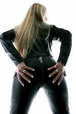 Leather Overalls Real Leather Catsuit Suit Overall Jumpsuit - All Sizes