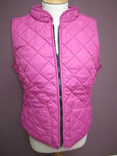 JOULES Nimba Quilted Gilet Fuchsia Szs 8 12 & 16 FreeUKP&P