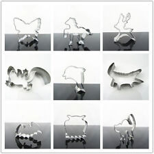 Animals Cookie Biscuit Baking Cake Chocolate Metal Cutter Mold Mould DIY Tool