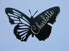 PERSONALIZED Novelty Place Cards BUTTERFLY x 5 for WEDDING or CELEBRATIONS