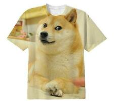Funny Popular Doge Wow Such Face Much Meme Many Reddit So 9gag Tee T Shirt