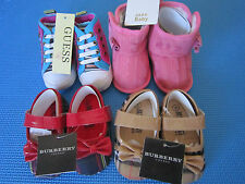 New w tag Zara Guess Baby Toddler Girl Soft Sole Shoes 0-18 M