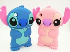 Cute 3D Lovely Blue Pink Stitch Silicone Soft Case Cover Skin For iPhone 3G 3GS