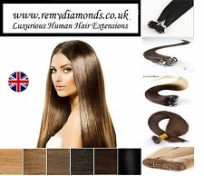 1G 25-200's ★REMY Pre-Bonded Nail U Tip HUMAN Hair Extensions ★FAST dispatch