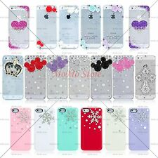FOR iPhone 5 5S LUXURY 3D Bling Crystal Diamond Bling Case Cover Clearance Sale