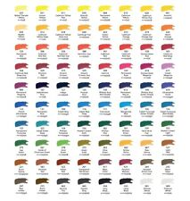 Daler Rowney artist quality water colour half pan Purples to greens watercolour