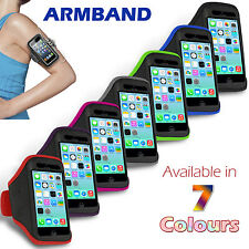 SPORT RUNNING GYM ARMBAND ARM BAND STRAP CASE COVER FOR iPHONE 5C