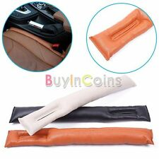 Luxury Leather Car Auto Seat Pad Gap Fillers Holster Spacer Filler Padding DHMO